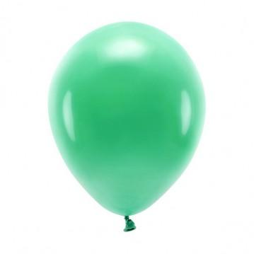 """100 stk. Økologiske grøn balloner str. 10"""""""