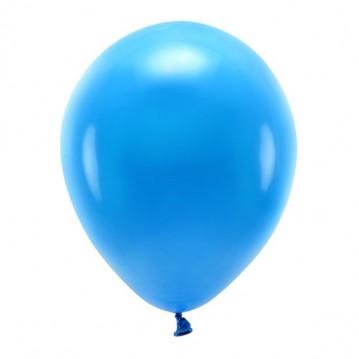 """100 stk. Økologiske blå balloner str. 12"""""""