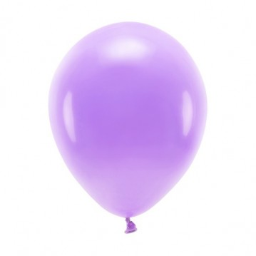 """10 stk. Økologiske lavendel balloner str. 10"""""""