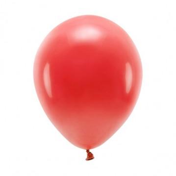 "10 stk. Økologiske mørkerød balloner str. 10"""