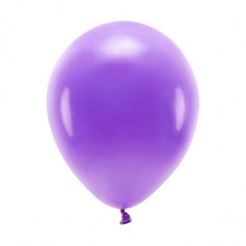"10 stk. Økologiske lilla balloner str. 10"""