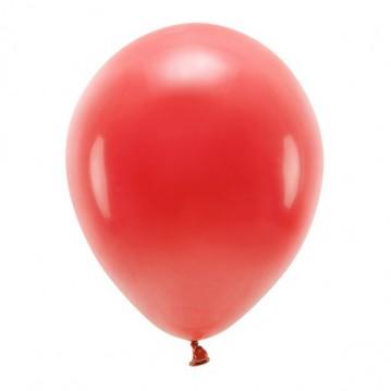 "10 stk. Økologiske mørkerød balloner str. 12"""