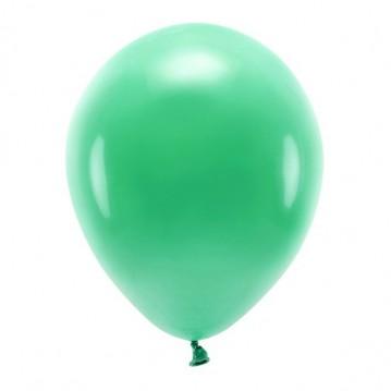 """10 stk. Økologiske grøn balloner str. 12"""""""