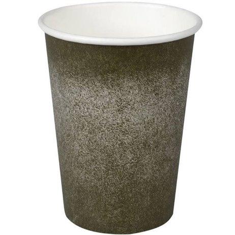 50 stk Kaffebæger Coffee to Go, Grå 360ml