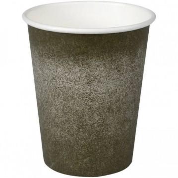 50 stk Kaffebæger Coffee to Go, Grå 240ml