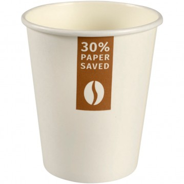 50 stk Kaffebæger 240ml - Miljøvenlig