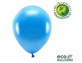 """Økologiske metallic balloner 10"""""""