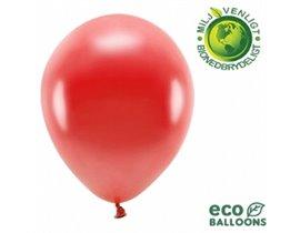 """Økologiske metallic balloner 12"""""""