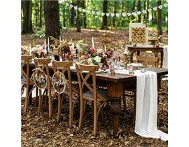 Bryllupsfest i skoven