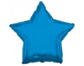 Ensfarvede stjerne folieballoner