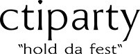 Image of   Tavle med klods - Fuchsia kvadratisk - Info/Menu-tavle